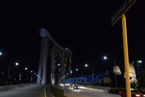 夜のベイサンズ
