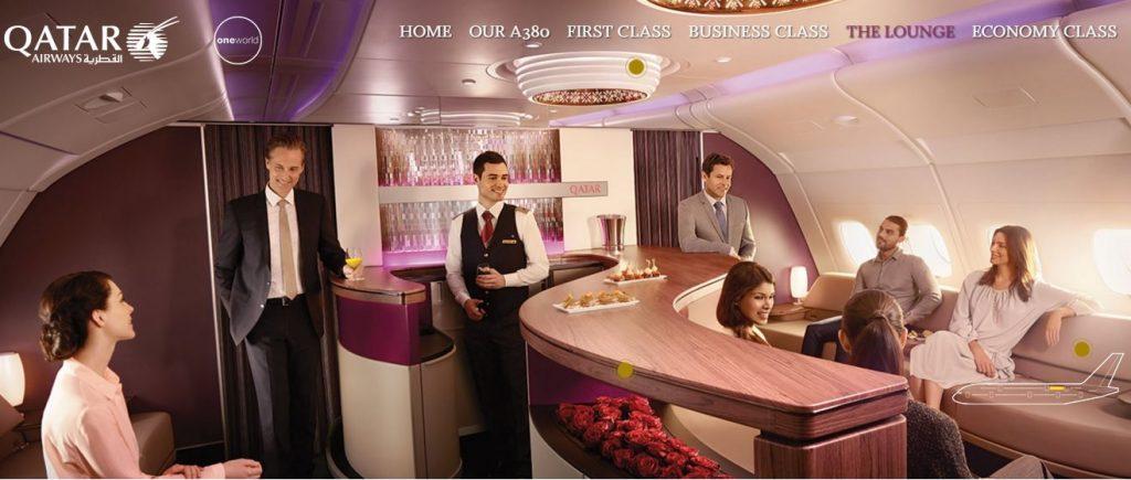 A380ラウンジ