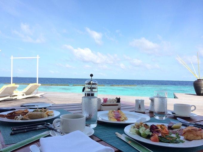 毎日楽しみだった朝食