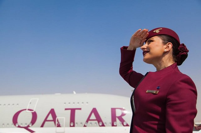 引用元:www.facebook.com/qatarairways/