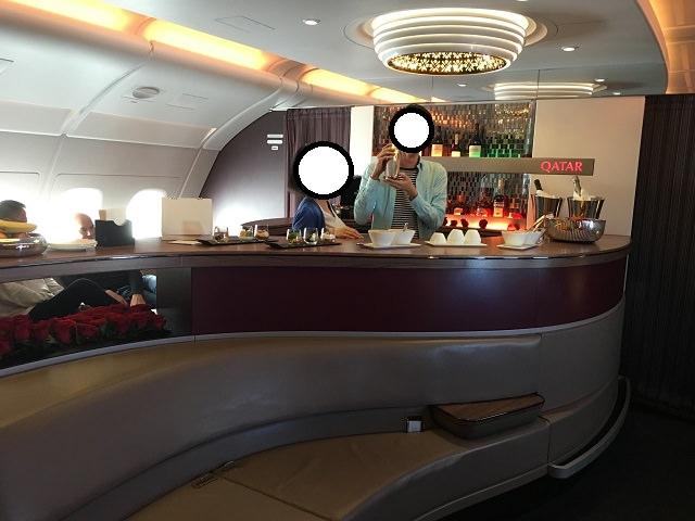 A380バーカウンター