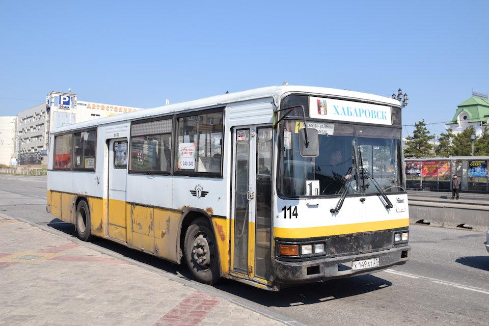 ハバロフスク市バス