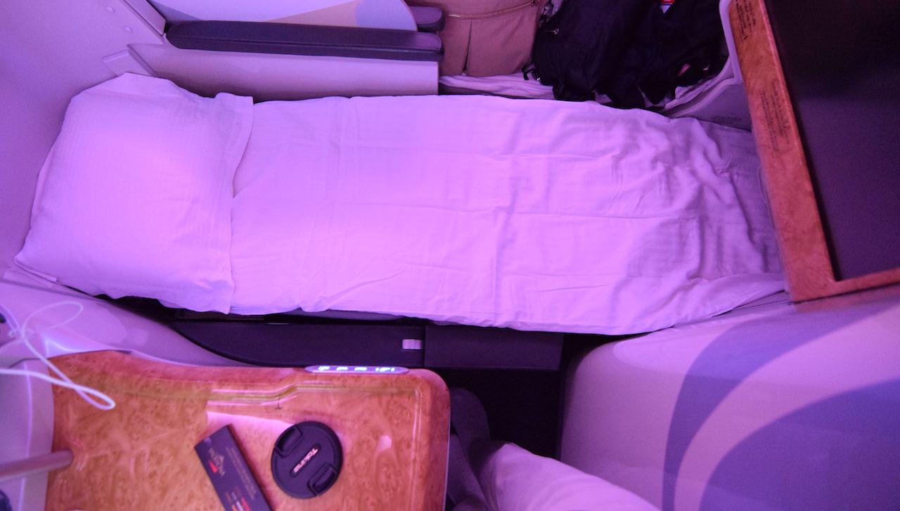 エミレーツ A380 ビジネスクラス
