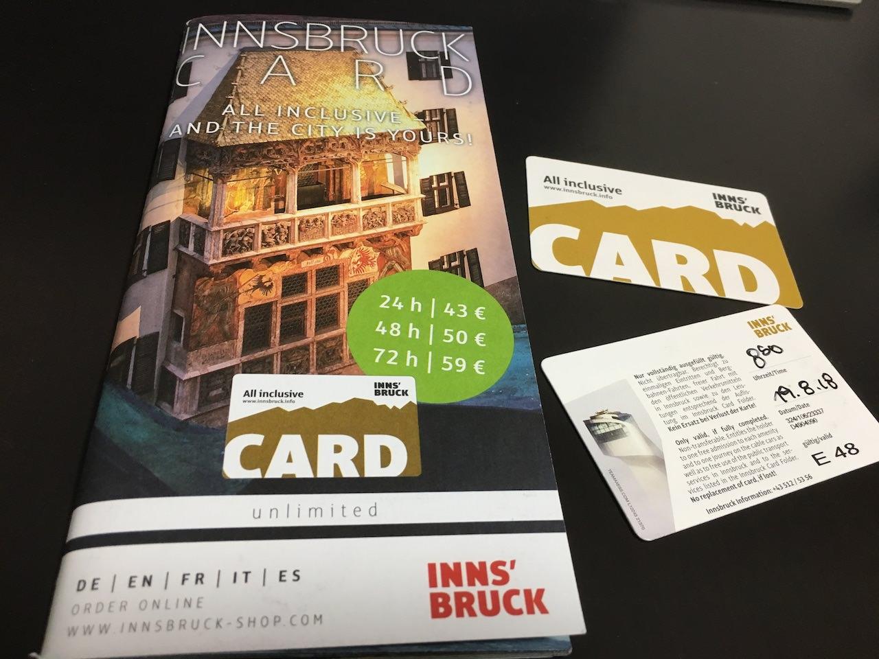 インスブルックカード