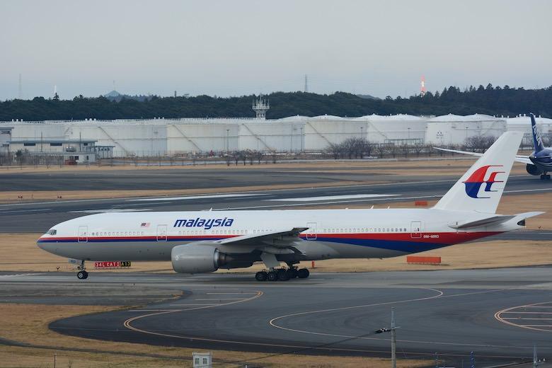 マレーシア航空B777