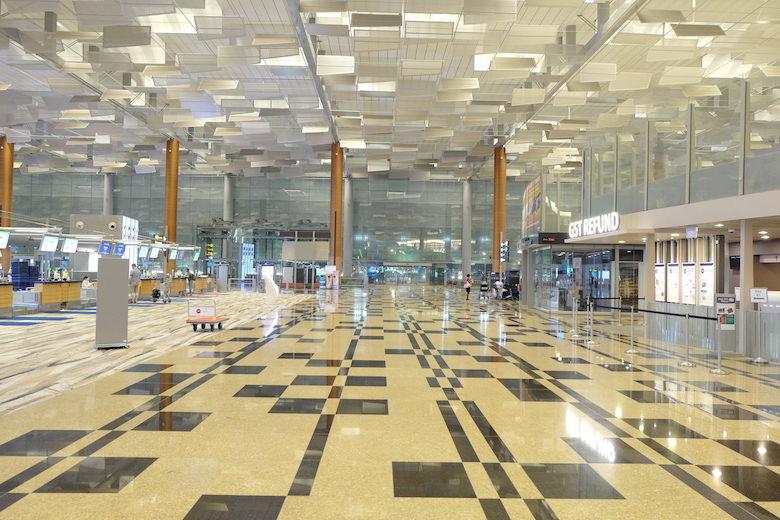 シンガポール航空 チャンギ空港