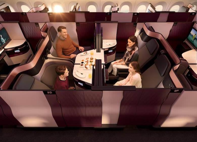 カタール航空 Q-Suite