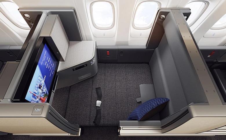 ANA 新型777 ビジネスクラス