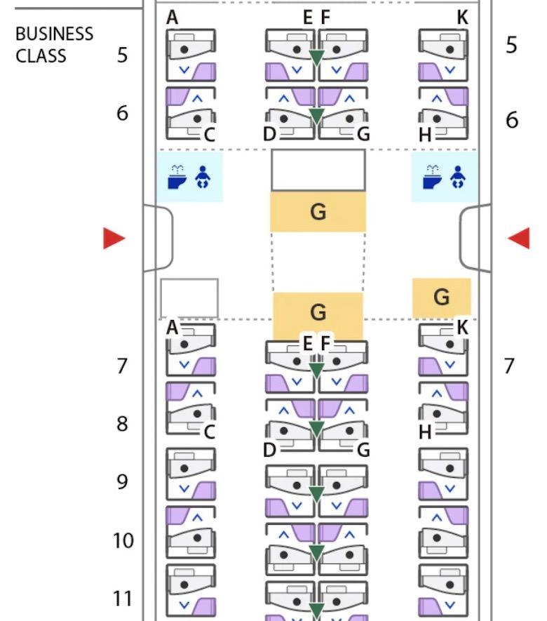 新型B777 ビジネスクラス