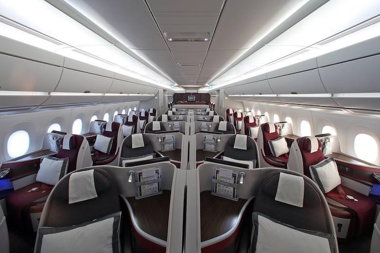カタール航空A350
