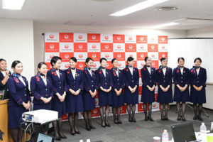 JAL 接客コンテスト