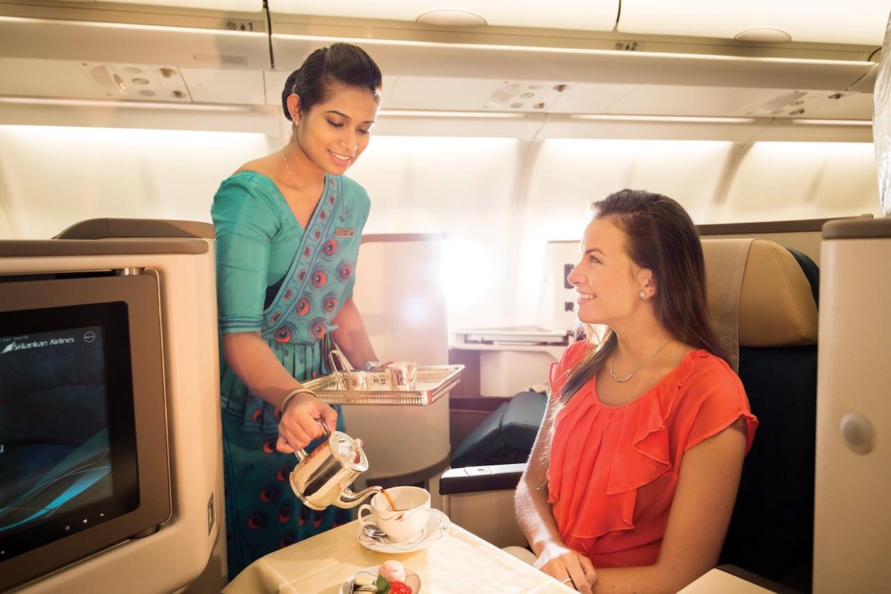 スリランカ航空 ビジネスクラス