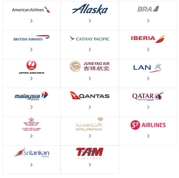 フィンエアー 提携航空会社