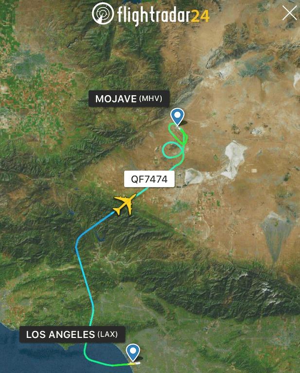 カンタス B747 ラストフライト