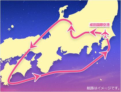 星空フライト JAL チャーター