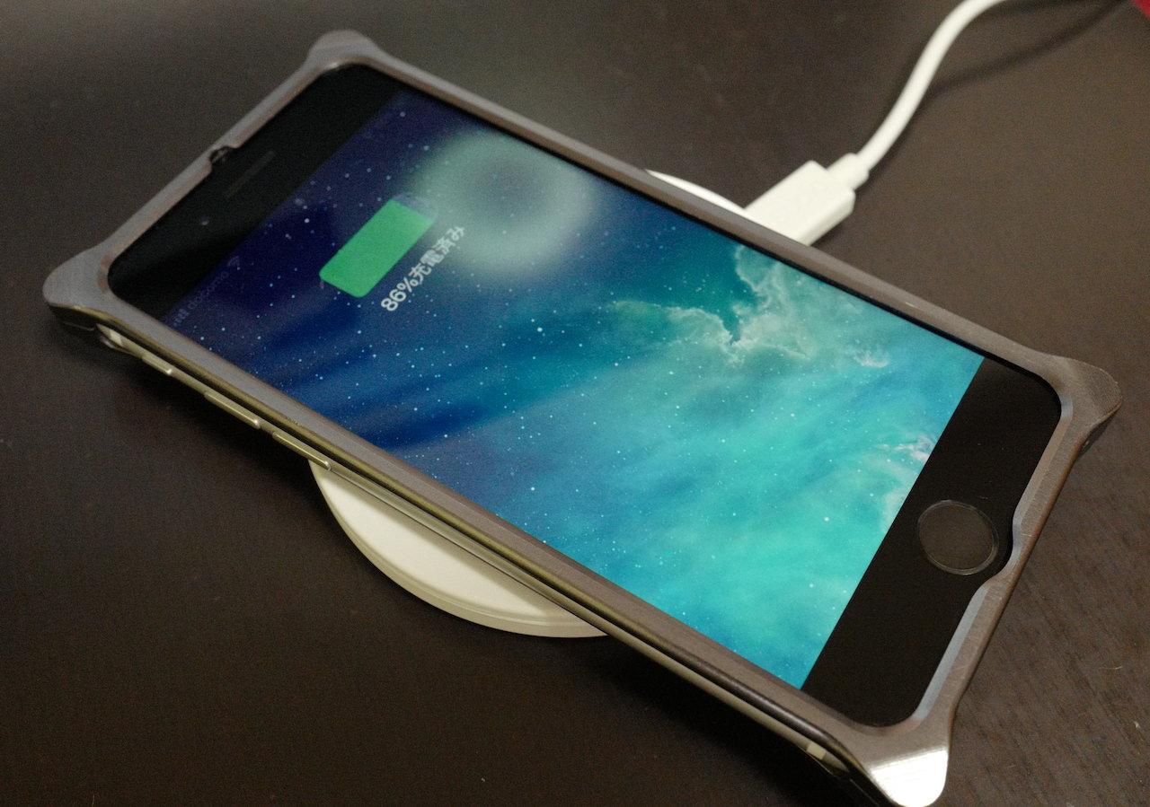 iPhone SE2 ワイヤレス充電